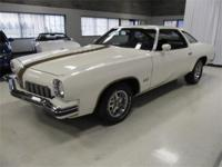 1973 OLDSMOBILE CUTLASS 442 - CAMEO WHITE WITH GOLD