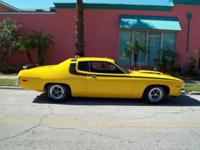 1973 Plymouth Roadrunner for Sale, 440 V8 engine,