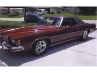 I am offering you an original beautiful 1973 Pontiac