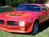 1973 455 SD TRANS AM THIS IS A NUMBERS MATCHING
