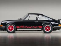1973 Porsche Carrera RS VIN: 9113600578 In 1973 a pair