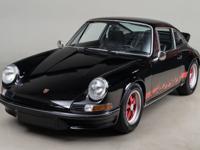 1973 Porsche 911 Carrera RS VIN: 911 3601182 Engine: