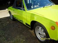 Complete and all original Porsche 914 with low miles