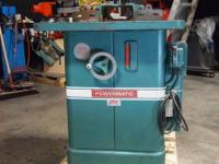 POWERMATIC Model #26 Wood Shaper Features: The