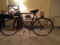 This is an extremely attractive vintage 10 speed bike