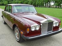 1973 Rolls-Royce Silver Shadow  This is a very