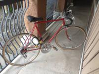 Schwinn Continental.  Riding the open road is an