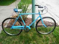 This is a 1973 Schwinn Speedster 3 speed from my garage
