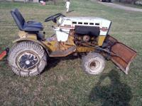 1973 sears suburban ss tractor 16 hp onan twin