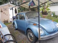 Selling a blue 1973 super bug run good in the Rochester