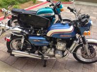 An amazing condition 1973 Suzuki GT750K with only 3,480