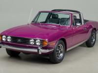 1973 Triumph Stag Mk2 VIN: LE21675U This Triumph Stag