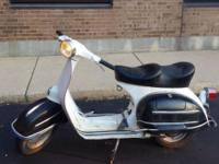 For sale nice straight rust free Vespa Sprint 150 4