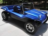 We have for sale a 1973 VW Dunebuggy. It uses a 1.7