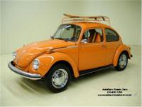 Stk.1529 1973 VW Super Beetle A good example of