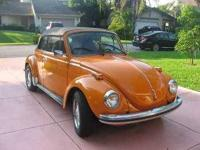 1973 Volkswagen Super Beetle Convertible This import