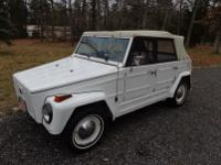 1973 vw thing very nice car runs great new brakes; -new
