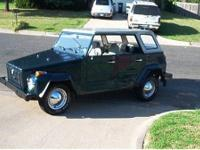 1973 Volkswagen Thing $9,000 GREAT BEACH or off road