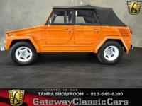 Stock #173-TPA 1973 Volkswagen Thing $16,995  Engine:4