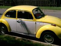 1973 Super Beetle Car was restored 10 years ago and