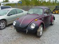 73 Super Beetle Project Car. NEW = engine,(1600 cc dual
