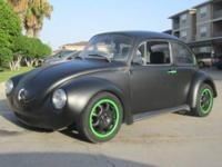 1973 Volkswagen Super Beetle--Custom Road Racer 1000