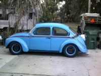 Up for sale is a 1973 vw super beetle with only 44428