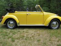 1973 Super Beetle Convertible. This Super Beetle has