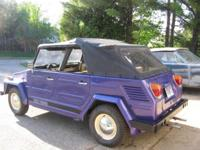 1973 VW Type 181 Thing really great car. Drives and