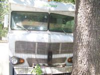 1973 Winnebago Indian Motor home selling for parts or