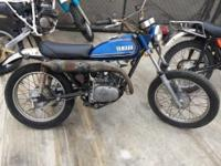 1973 Yamaha 125 ... runs fantastic ... excellent shape