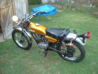 1973 Yamaha 125 CT3. 7773 initial miles. Have clean PA