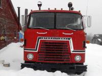 I am selling my '73 IH Transtar cabover vintage
