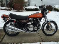 For your consideration is my restored 1973 Kawasaki Z1.