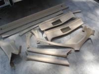 1973 TO 1977 EL CAMINO INTERIOR REFINISHED MOLDINGS,