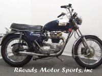 1973 Triumph Tiger 750 with 13,910 Miles. This was a