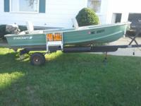 1974 StarCraft fishing boat with motor and trailer. New
