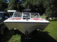 White. Watercraft needs Transom work, see in pics.