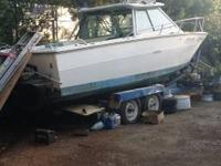 Boat for sale: 1974 24 ft. SeaRay for sale as is. Comes