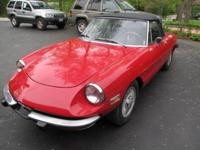 Strong running 1974 Alfa Spider with 50,800 miles. Has
