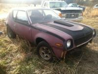 This is a 1974 AMC GREMLIN rolling chassis very