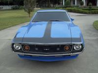 1974 AMX 401 Automatic. This car is not for the faint