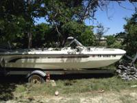 1974 arrow glass custom. 1974 evinrude motor (requires