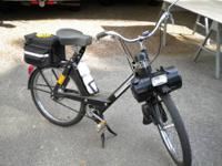 1974 black Velo Solex for motor assisted with in speed