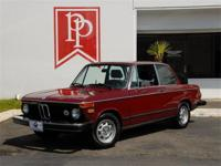This 1974 BMW 2002 is a factory original Tii -