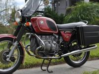 1974 BMW R75R/6 Up for your consideration is