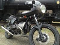 1974 BMW R90/6 Caf Racer built by Editor Richard Backus