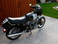 ~ ~ ~ 1974 BMW R90S in exceptional condition. The color