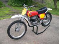 1974 Bultaco 360 Pursang. Very original condition.