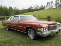 Beautiful, rare 2 door 1974 Cadillac dElegance with
